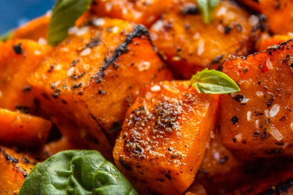 cartofi dulci la cuptor